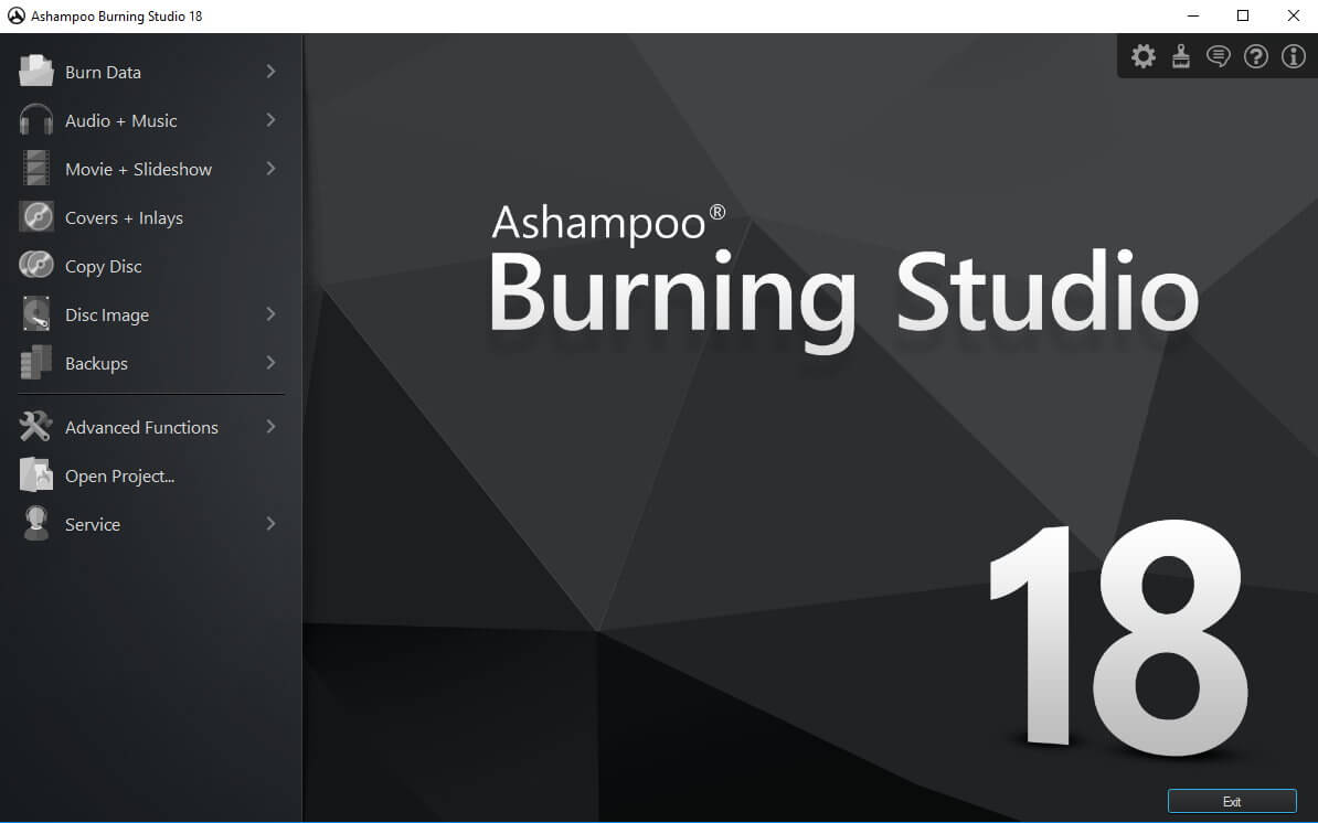 Ashampoo Burning Studio 18 screenshot