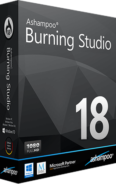Ashampoo Burning Studio 18 boxshot