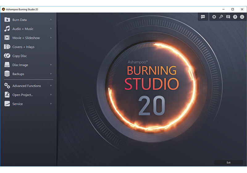 Ashampoo Burning Studio 20 screenshot