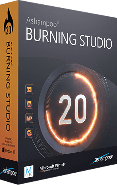 Ashampoo Burning Studio 20 boxshot