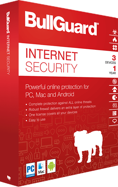 BullGuard Internet Security 2018 boxshot