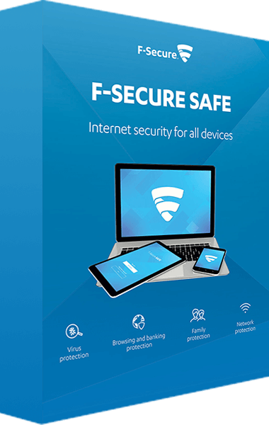 F-Secure SAFE boxshot