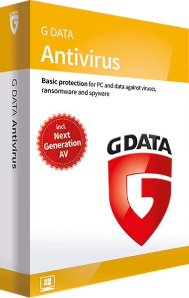 G DATA Antivirus boxshot