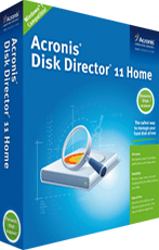 Acronis Disk Director 11 Home boxshot