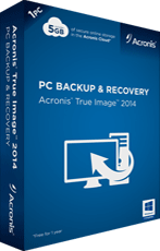 Acronis True Image 2015 for PC boxshot