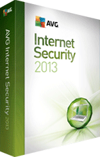 AVG Internet Security 2013 boxshot
