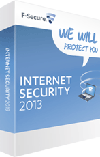F-Secure Internet Security 2013 boxshot