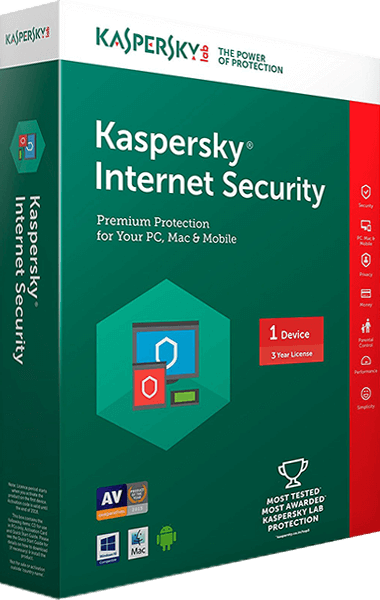 Kaspersky Internet Security boxshot