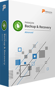 Paragon Backup & Recovery Advanced boxshot