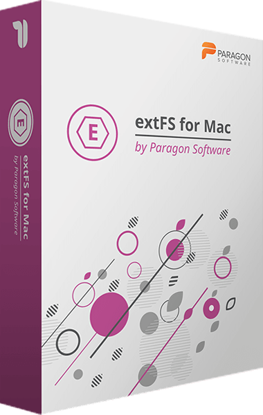 extFS for Mac by Paragon Software boxshot