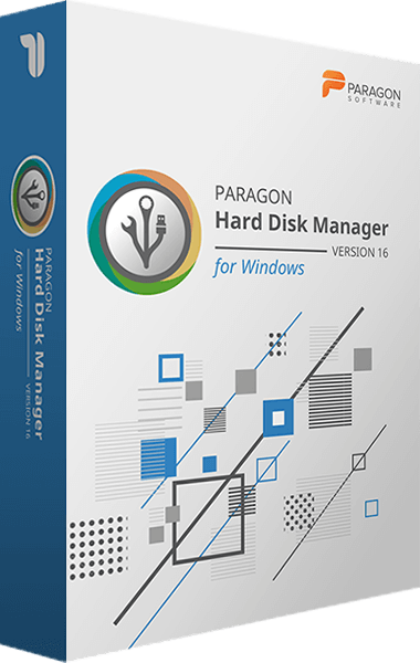 Paragon Hard Disk Manager 16 boxshot