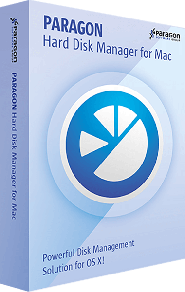 Paragon Hard Disk Manager for Mac boxshot