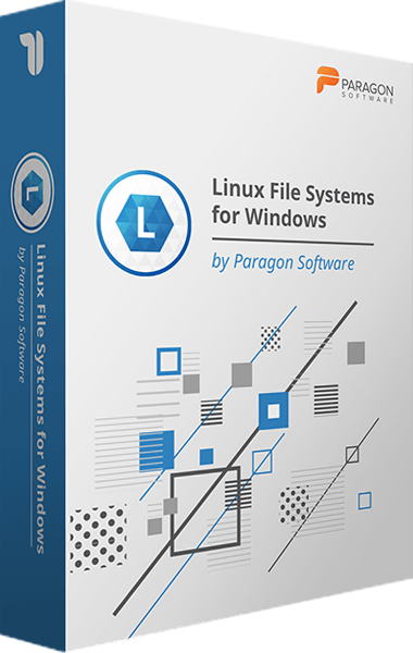 Linux File Systems for Windows boxshot