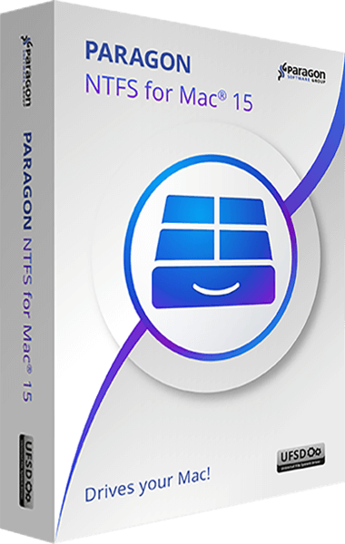 Paragon NTFS for Mac 15 boxshot