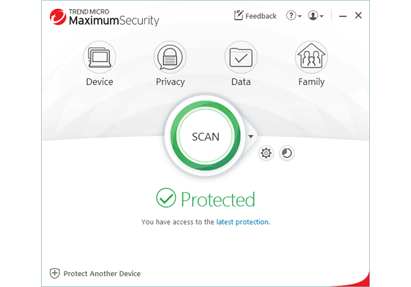 Trend Micro Maximum Security screenshot