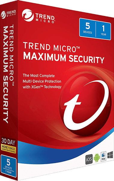 Trend Micro Maximum Security boxshot
